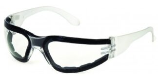 1715CAF F-I Clear Lens Anti-Fog, Clear Frame