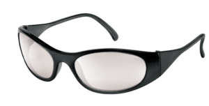 MCR F2119 F2 Series, Black Frosted Frame, Indoor/Outdoor Clear Mirror Lens