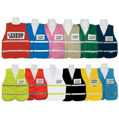 3A Safety IC1000 Series Incident Command Vest