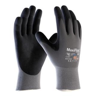 PIP ATG MaxiFlex 34-874 Grey/Black Large Nylon Full Fingered General Purpose Gloves, Dozen