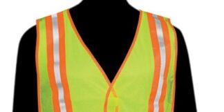 N16220 Fluorescent Lime Vest - 2
