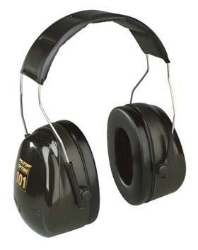 3M Peltor Optime 101 Series Earmuffs - Optime 101 Series, headband