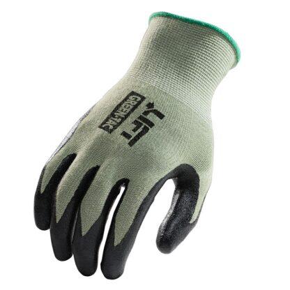 Palmer Green-Tac GPG-1G Black Nitrile Coated Palm Glove, Pair