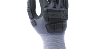 VS2260X 15 Gauge Lightweight Nylon Shell, Super-Foam Nitrile Coated, TPR Back of Hand
