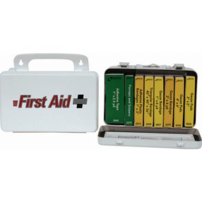 ProStat 0247 Cal OSHA 10 Person Metal Truck Kit