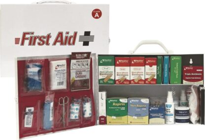 ANSI Class A Type I&II 75 Person 2 Shelf Industrial First Aid Cabinet