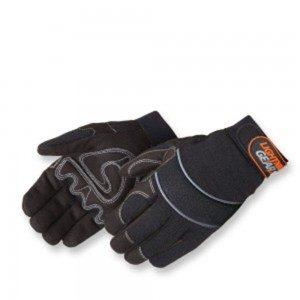 0915BK OnyxWarrior Black Mechanic Gloves, Pair