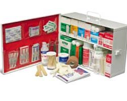 Prostat 0612 2 SHELF FIRST AID CABINET  WITH LINER