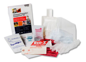 Saftec 17001 Universal Precautions Compliance Kit