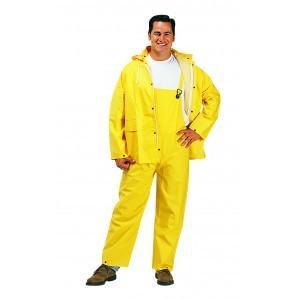 1220 Yellow 3 Peice .35mm Rainsuits
