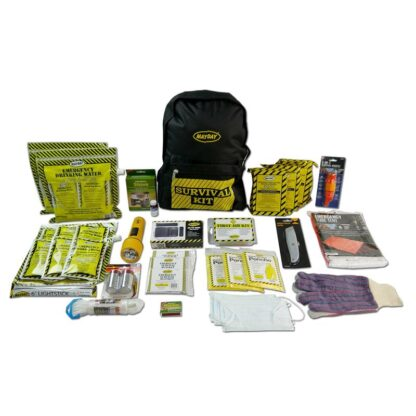 MayDay 13037 Deluxe Emergency Backpack Kit (3 Person Kit)