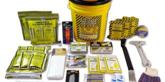 MayDay 13038 Deluxe Emergency Honey Bucket Kits  (3 Person Kit)