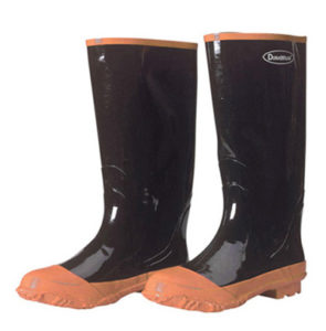 1501 Black Steel Toe Rubber Boots, Pair