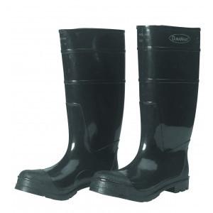 1551 Black Steel Toe PVC Boots, Pair