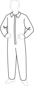 PermaGard 18210  Disposable Coveralls