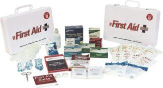 ANSI 2015 Class B Plastic First Aid Kit, 50 Person