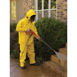 2603 Hydroblast, .35mm Yellow PVC/Polyester suit, Jacket w/attached hood, bib pants