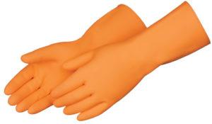 Liberty Gloves 2867SP 13 inch Orange Heavy Weight Latex, Dozen