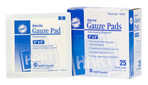 Sterile Gauze Pads 2