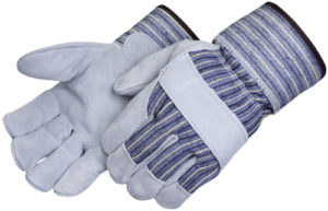 Liberty Gloves 3230A Premium Full Side Split Leather Palm Glove, Dozen