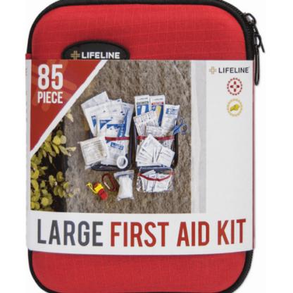 LifeLine Hard-Shell Foam First Aid Kit 85 Piece