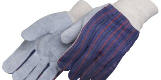 Liberty Gloves 3863 Clute Pattern Regular Leather Palm Gloves, Dozen