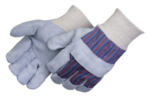 Liberty Gloves 3866Q/SP Shoulder Leather Palm Glove With Knit Wrist, Dozen
