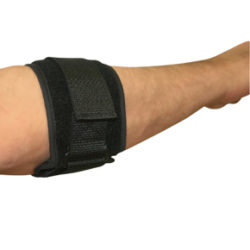 9330 Universal Black Tennis Elbow Support