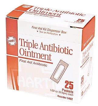 3 in 1 Antibiotic Cream 25/bx