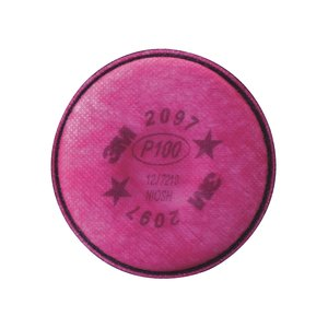 3M 2097 Replacement  Particulate Filter P100 w/ Nuisance Level