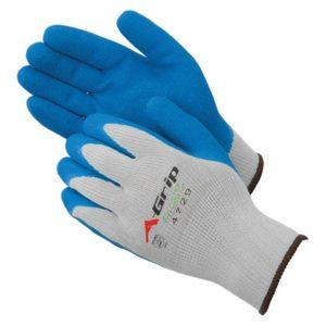 Liberty Gloves 4729G A-Grip Blue Latex Coated Palm Glove, Dozen