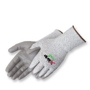 Liberty Gloves 4936 Cut Level A2 Shell with 13 Gauge Gray Coated Palm, Pair