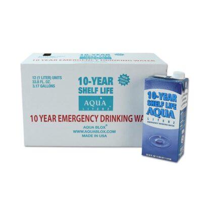 MayDay 73114 10-Year Aqua Literz  1000 ML (33.8 oz) - Case 12