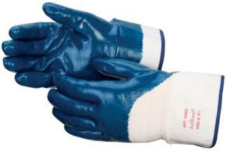 Liberty Gloves 9360 Smooth Finish Blue Nitrile Palm Coated Glove, Dozen