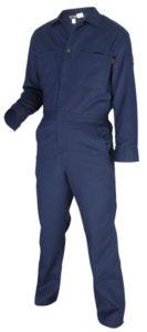 MCR CC1N Max Comfort FR 7oz Navy Blue Contractor Coveralls
