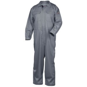 Black Stallion CF2215-GY Deluxe 9oz FR Cotton Coverall, Gray