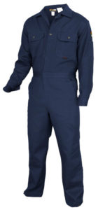 MCR DC1N Max Comfort 7oz Navy Blue FR Deluxe Coveralls