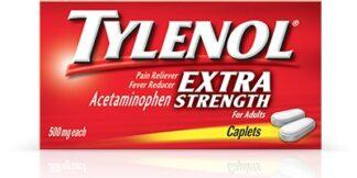 Tylenol Extra Strength 50 2pks/bx