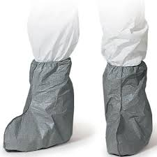 Dupont Tyvek  FC454S Gray  Boot Covers