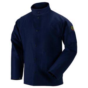 Black Stallion FR9-30C TruGuard  9oz Navy FR Cotton Welding Jacket