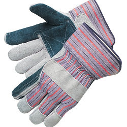 Liberty Gloves 3581SP Standard Jointed Double Leather Palm Gloves, Dozen