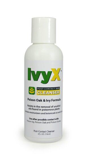 Cortex Ivy X Post-Contact Skin Cleanser 4oz Bottle