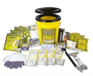 MayDay 13040 Deluxe Emergency Honey Bucket Kits  (4 Person Kit)