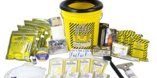 MayDay 13040 Deluxe Emergency Honey Bucket Kits  (4 Person Kit)