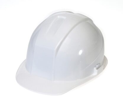 DURASHELL 6 POINT PINLOCK SUSPENSION WHITE HARD HAT
