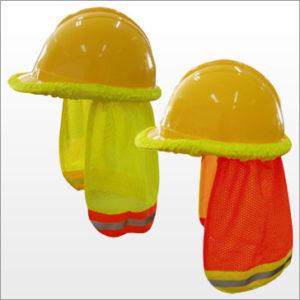 NS3000 Orange / NS3001 Lime Hard Hat Neck Shades