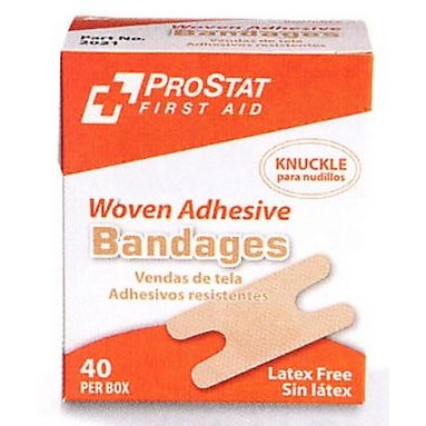 ProStat  2021 Woven Knuckle Bandages, 40/Box