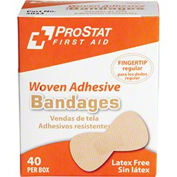 ProStat 2023 Woven Regular Fingertip Bandages, 40/Box