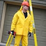R9023FR Stormfront-FR 3-Piece Rain Suit Yellow .35 mm. PVC/Polyester