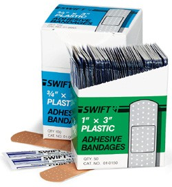 ProStat 2171 Plastic Adhesive Bandages, 3/4